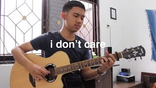 I Don't Care - Ed Sheeran, Justin Bieber (Fingerstyle Guitar)
