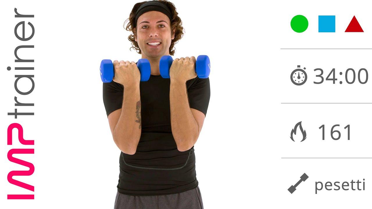 Download Allenamento Intenso con I Pesi Per Donne (braccia, spalle e tronco)