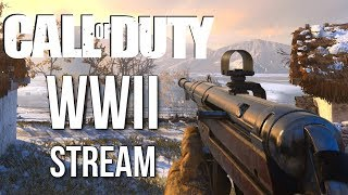 Call of Duty: WW2 Multiplayer Gameplay Stream