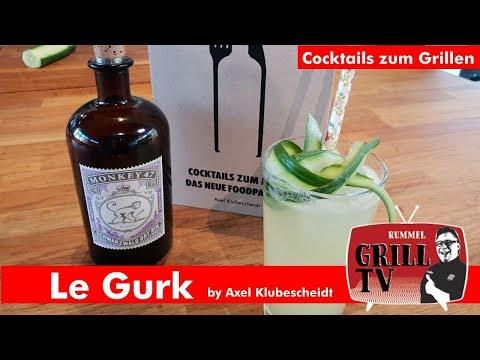 Welcher Gin Cocktail zum Grillen? -Le Gurk-by Axel Klubescheidt - Monkey 47- Rummel Grill TV