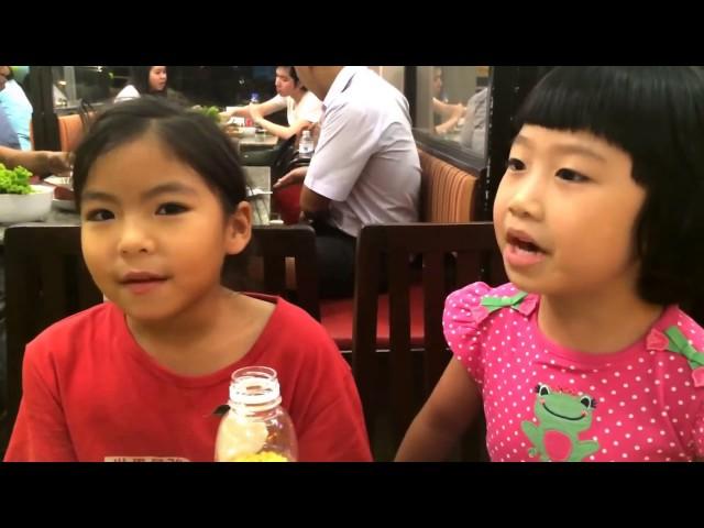 เมื่อเด็กสองภาษามาเจอกัน