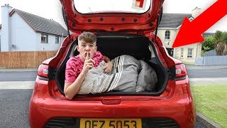 I Spent the Night in my Car & Nobody Knew... (24 Hour Challenge)
