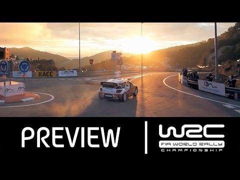 WRC - RallyRACC - Rally De España 2015: PREVIEW Clip