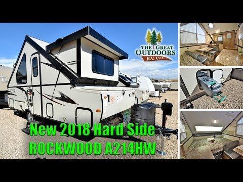 2019 Rockwood A213hw Highwall A Frame Hardside Popup