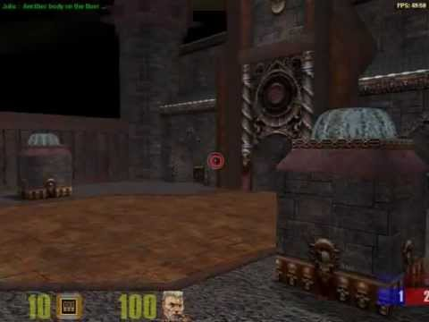 Quake 3 Forever on Google Chrome Browser