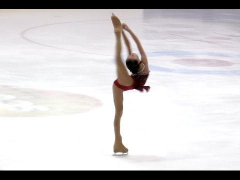 ★Singapore National Figure Skating Championships 2014 - Yu Shuran - Jnr & Adv Ladies [HD]