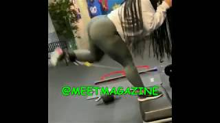 Joie Chavis lower body workout! Bow Wow aka Shad Moss baby mama has the best work out moves!