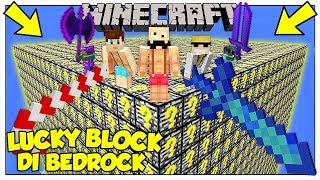 LA SFIDA DEI LUCKY BLOCK GIGANTI DI BEDROCK! - Minecraft ITA
