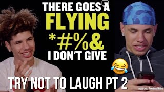 LaMelo Ball TRY NOT TO LAUGH CHALLENGE PT. 2 | HILARIOUS Moments Montage
