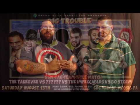GSW Big Trouble in Little Moosic 2 match announcements