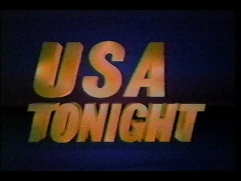 March 5, 1987 - Independent Network News 'USA Tonight' with Morton Dean
