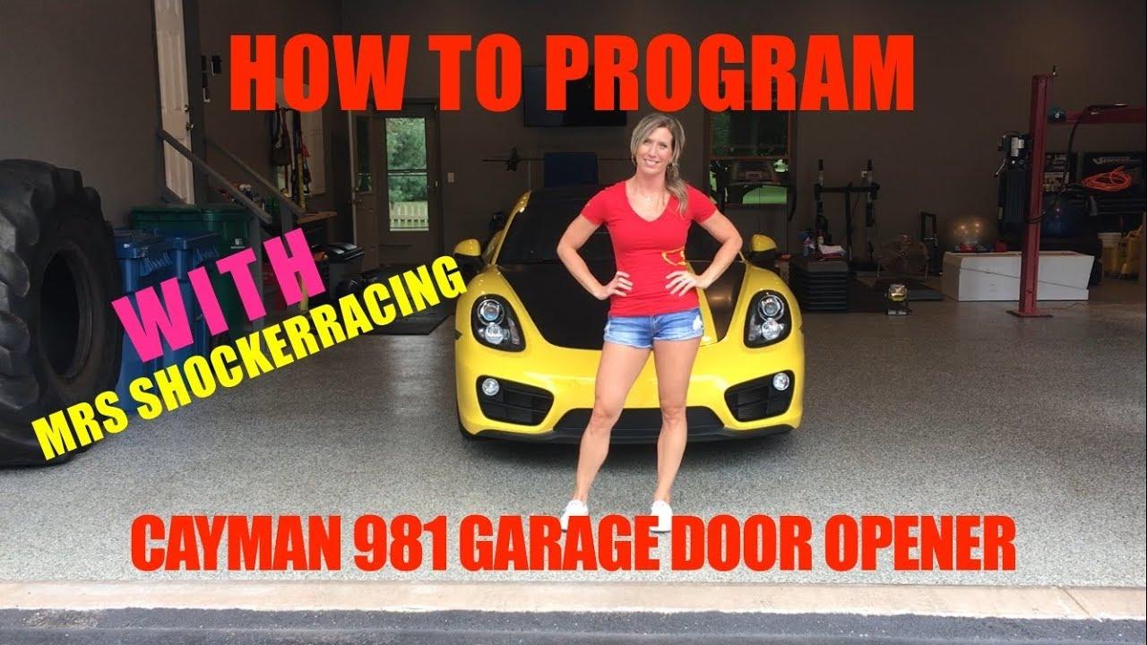 porsche 996 garage door opener