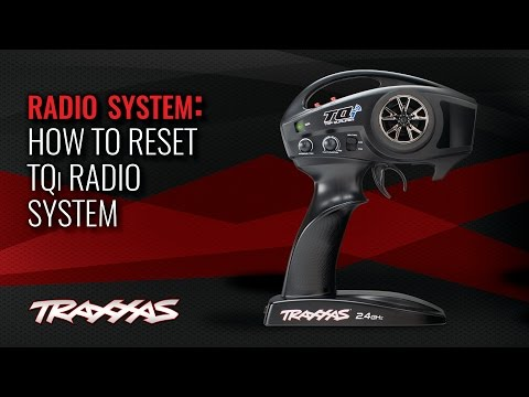 How to Reset the TQi Radio System | Traxxas Support