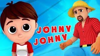 johny johny ya papa | sajak untuk anak-anak | lagu bayi | Nursery Rhymes | Johny Johny Yes Papa Poem
