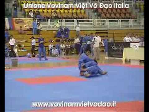 3rd Vovinam VVD World Champ. Song Luyen Ba Vietnam