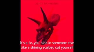 Alice In Chains - Scalpel (Lyrics) (HQ)