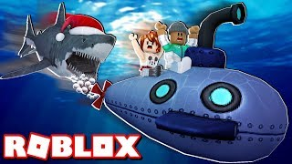 *NEW* BUYING THE NEW SUBMARINE IN ROBLOX SHARKBITE! (Winter Update)