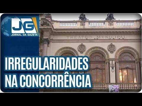 Há indícios de irregularidades na concorrência para gerir Theatro Municipal