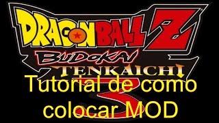 Tutorial como colocar MOD no Dragon Ball Z Budokai Tenkaichi 3 (PT-BR)