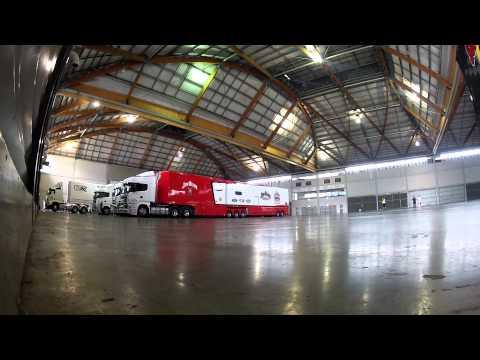 Unpacking The Trucks - GoPro Timelapse