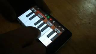 iPhone GarageBand App | Roja Jaaneman/Kadhal Rojave | Instrumental cover