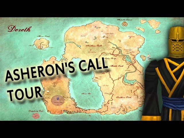 ASHERON'S CALL TOUR - All Towns and Special Places