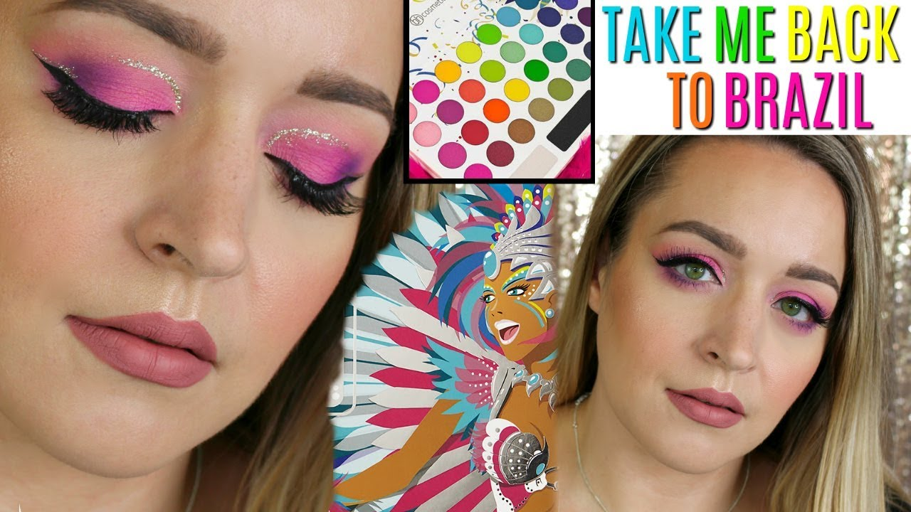 take me back to brazil review tutorial grwm bh cosmetics dreacn youtube. Black Bedroom Furniture Sets. Home Design Ideas
