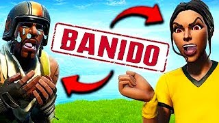 2 HACKERS BANNED LIVE-Fortnite