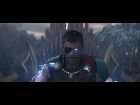 Тор: Рагнарёк. Тор получает силу Одина и атакует армию Хелы (FULL HD)