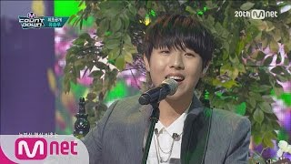 yu seungwoo 유승우 you are beautiful 예뻐서 comeback stage m countdown 150730 ep 435