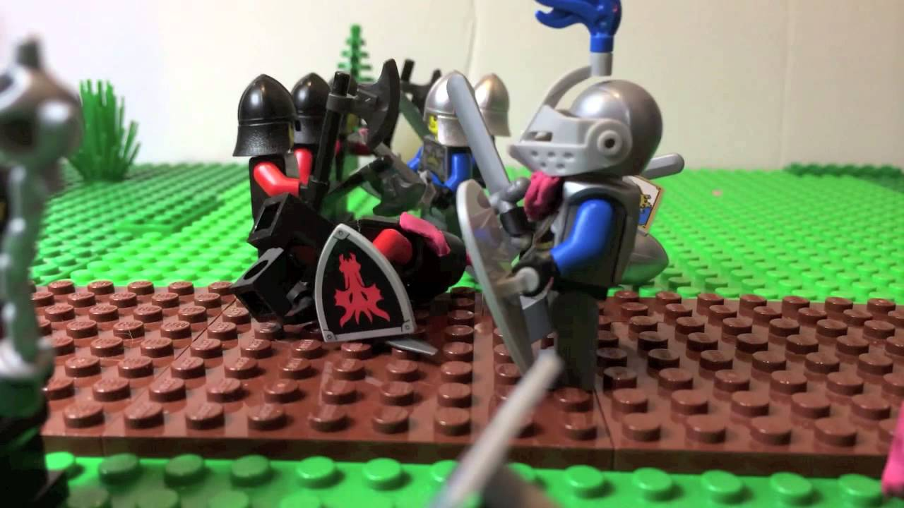 Lego Castle Attack Of The Dragon Knights - YouTube