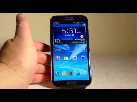 Samsung Galaxy Note 2 Sprint Review
