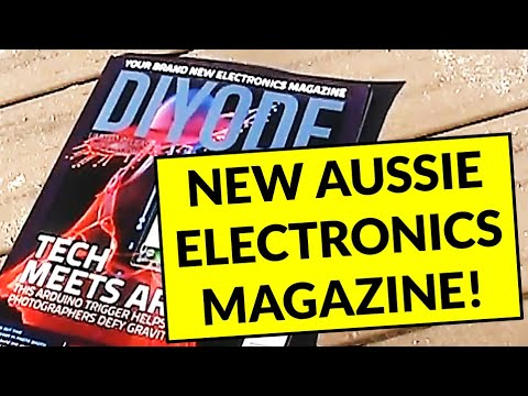 Product review: The new Diyode electronics magazine