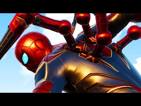SPIDERMAN IRON ARMS - Iron Spider Suit - Spider Man PS4 Gameplay Part 2 | Pungence