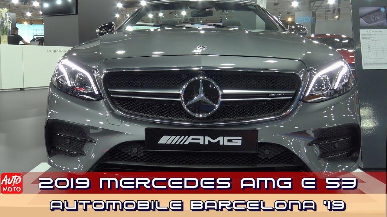 2019 Mercedes AMG E 53 Cabrio - Exterior And Interior - 2019 Automobile Barcelona