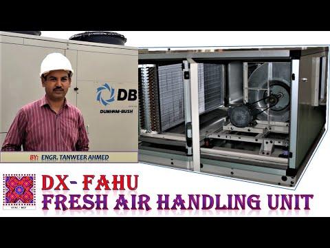 DX Type Fresh Air Handling Unit | DX-FAHU | HVAC | In Urdu / Hindi