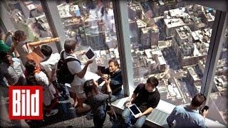 """New York Reise: """"One World Trade Center"""" Skydeck eröffnet - Aussicht - Big Apple"""