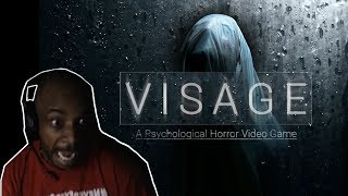LACARI GETS TERRIFIED (VISAGE)