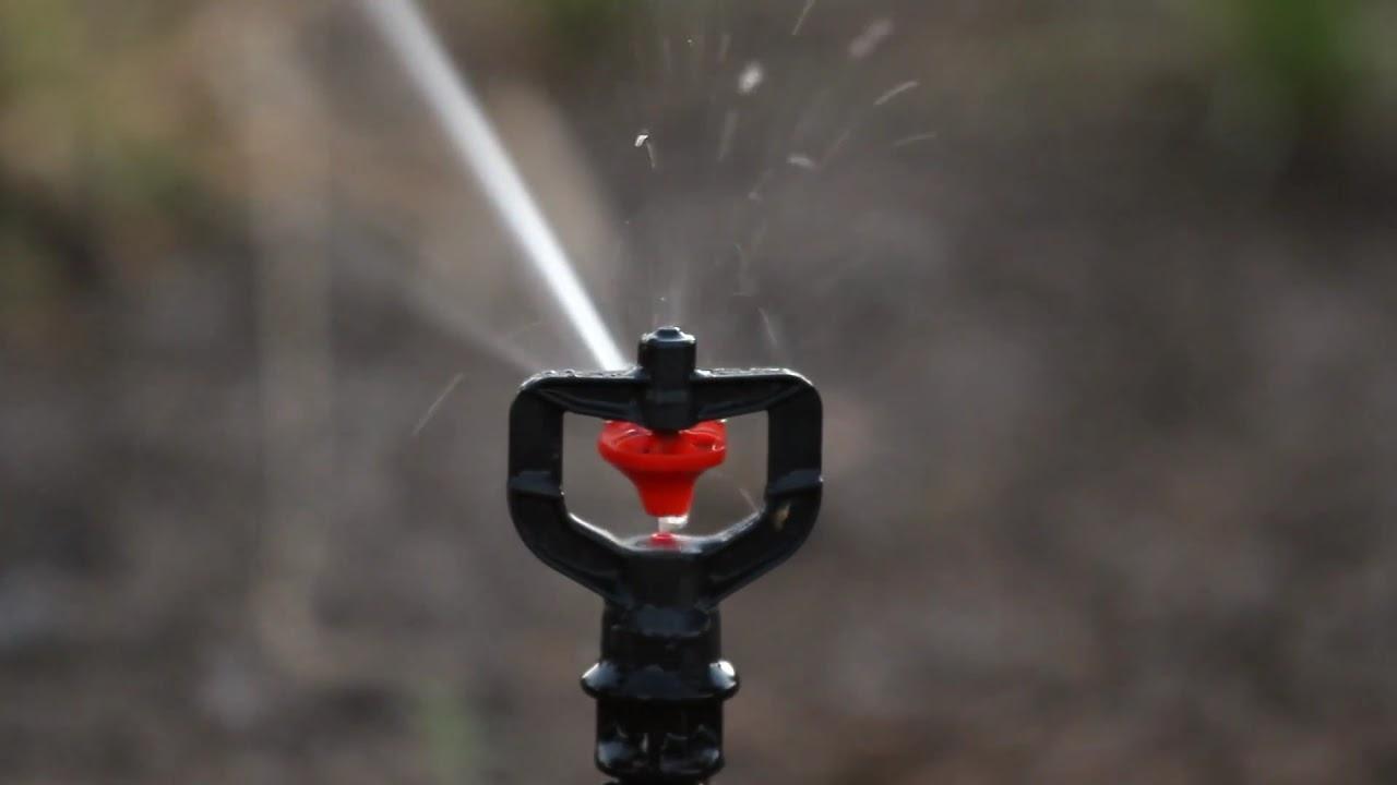 Nelson R10 Rotator® Tree and Vine Sprinkler - YouTube