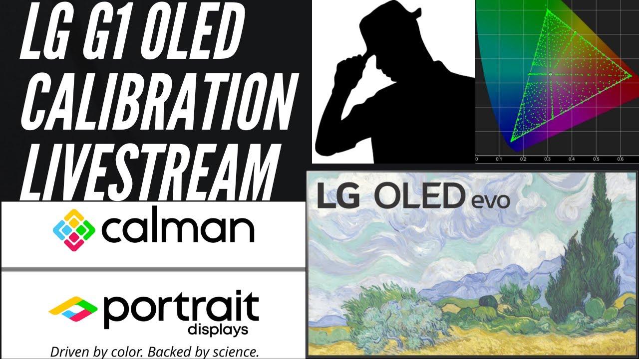 LG G1 OLED Calibration Livestream With Ninjician AV