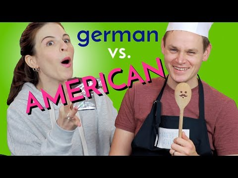 What an American Says VERSUS A GERMAN