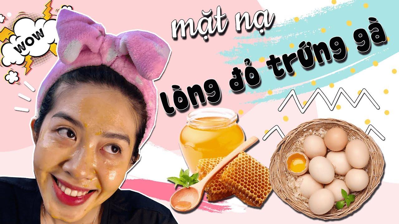 Cách đắp mặt nạ lòng đỏ trứng gà sữa chua trị mụn trị nám – NGHEBALAN
