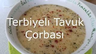 Terbiyeli Tavuk Çorbası Tarifi(Tavuk Suyuna Çorba)/Pratik Tarifler