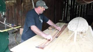 Wood Surfboard Building, Bending wood without steaming