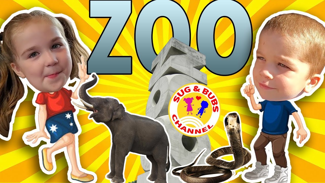 Granny at the Zoo?! (Sug and Bubs Channel)