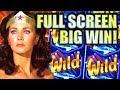 ★SUPER BIG WIN!!★ CHASING ANOTHER JACKPOT! WONDER WOMAN WILD Slot Machine Bonus (SG)