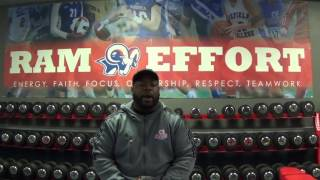 Bluefield College Football Weight Training