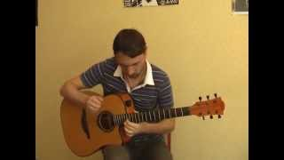 """""""Метель"""" - ДДТ (соло кавер на гитаре В.Трощинков   уроки гитары Киев и Скайп)"""