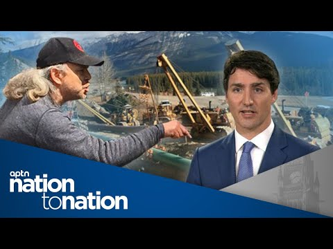 Trudeau government won't rule out using force to build Kinder Morgan pipeline | APTN NationToNation