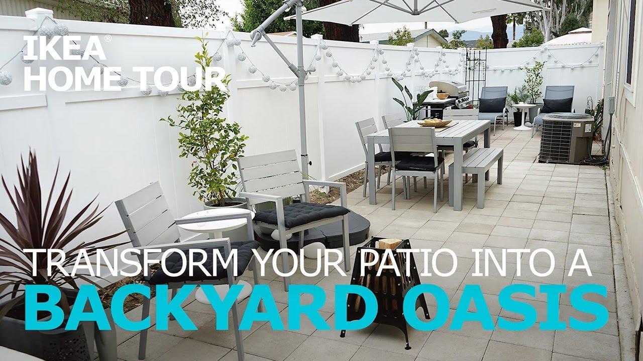 Ikea falster garden furniture design youtube - Outdoor Patio Ideas Ikea Home Tour Episode 305
